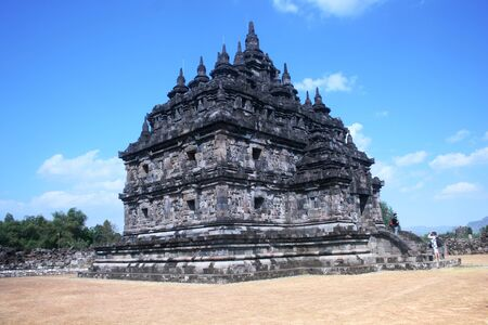 plaosan temple is located in Yogyakarta on Java island, Indonesia Stock Photo - 17049719