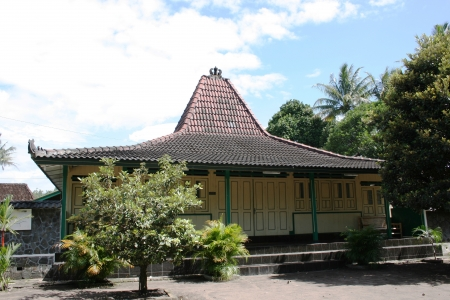 joglo original traditional house in Yogyakarta, Indonesia Publikacyjne