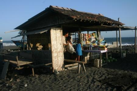 jogjakarta: Bugel beach atmosphere and Karangwuni in Kulon Progo, jogjakarta