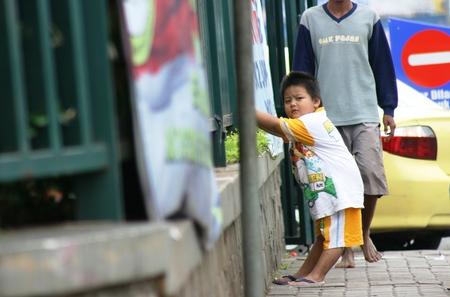 street children in poor countries Indonesia in major cities