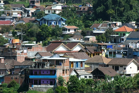 Residential Areas In Batu Hill Malang East Java Indonesia Stock Photo Picture And Royalty Free Image Image 28459668