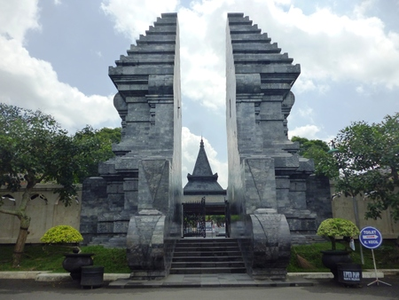 Bung Karno s tomb monument located in the town of Blitar , East Java , Indonesia Stock fotó