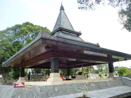 Bung Karno s tomb monument located in the town of Blitar , East Java , Indonesia Sajtókép