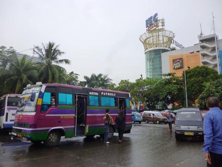 public transport terminals in Depok, West Java, Indonesia 新闻类图片