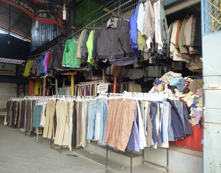 used clothing stores in Semarang, Indonesia