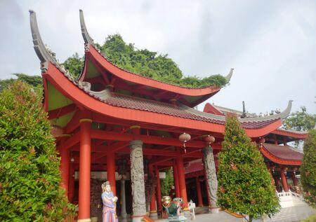 sam: Sam Poo Kong shrine in Semarang, Central Java, Indonesia