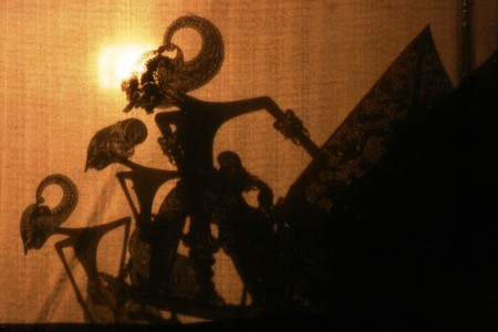 Wayang Kulit Shadow Puppet Show photo