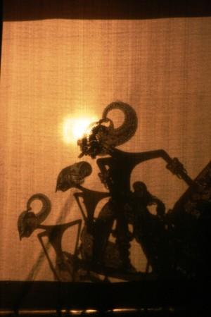 Wayang Kulit Shadow Puppet Show photo