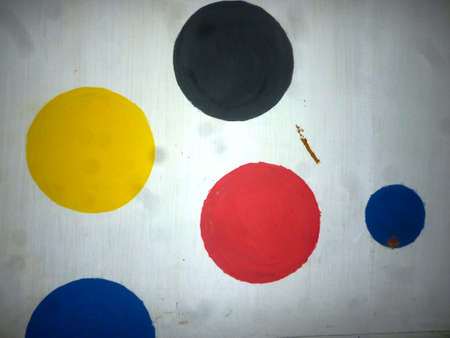 colourfull: colourfull polkadots Stock Photo