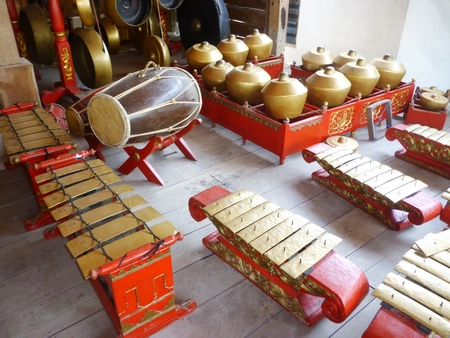 Gamelan Music Instrument