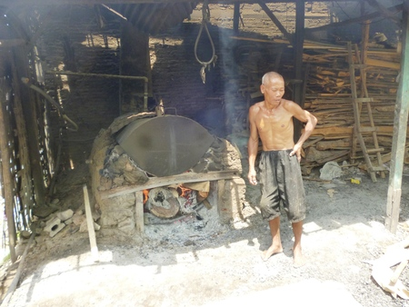 plurality: Making frozen and dried tofu in indonesia, asian