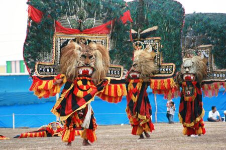 Reog ponorogo stock photos royalty free reog ponorogo images performance dance and attraction of traditional reog ponorogo blora central java java indonesia thecheapjerseys Gallery