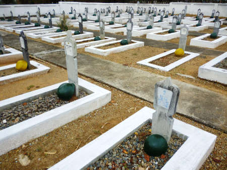 churchyard: Indonesian Soldiers Grave Editorial