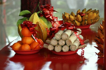 offerings: Offerings for Chinese New Year