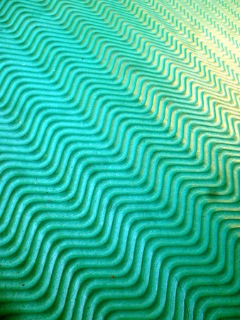inter: green fabric texture sample for inter design Stock Photo