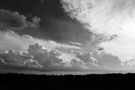 photography landscape with dramatic sky Stock Photo - 67590517