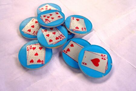 Coin playing cards