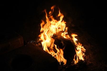 fire burning Imagens