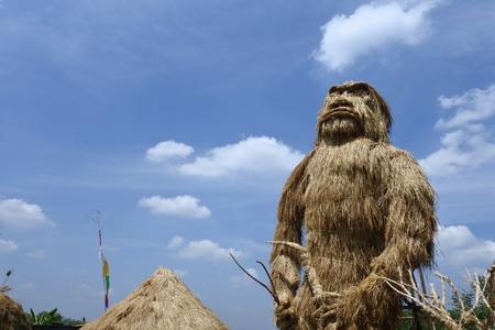 Straw Festival, Central Java, Indonesia