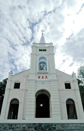 Built in 1888, St Annes Catholic Church in Bukit Mertajam, Penang, Malaysia is a regional pilgrimage site which sees flocks of pilgrims visiting the church every July.