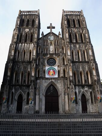 A landmark in the Old Quarter of Hanoi, this church was built by the French in 1886
