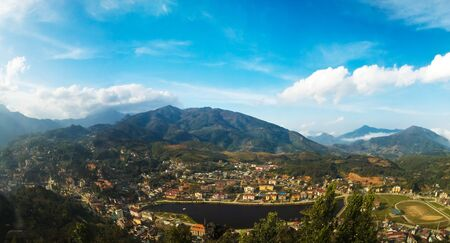 The hill town of Sapa  in Northeast Vietnam is a popular trekking destination and gateway to many of Vietnams hill tribes.