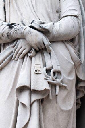 temperance: Detail of the Temeperance statue of Logan Memorial in Penang