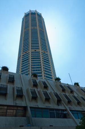 30 May 2010, Georgetown, Penang: Kompleks Tengku Abdul Rahman, or KOMTAR, is the tallest building in Penang Island, reaching 65 storeys