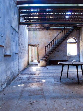An abandoned room in an old building. Stock Photo - 9293308