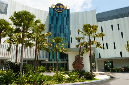 31 May 2010, Penang, Malaysia: The Hard Rock Hotel is the newest hotel to open in Penang Editorial