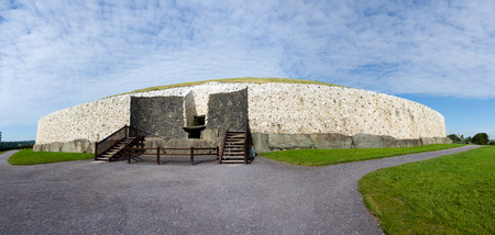 county meath: The Neolithic structure of Newgrange in County Meath Ireland is one of the oldest buildings in the world  a barrow tomb over 3000 years old.