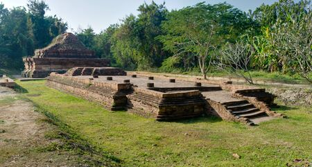 discovered: Wiang Kum Kan is an ancient lost city that was recently discovered near the northern Thai city of Chiang Mai.