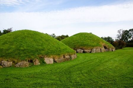 Small passage tombs such as these were constructed 4,000 years ago, making them among the oldest buildings in the world.