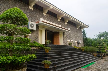tragedies: My Lai Massacre Museum in Quang Ngai Province, Vietnam commemorates the death of many Vietnamese under the hands of American forces