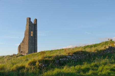 Stone ruins, part of Trim in Ireland