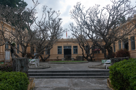 The Museum of Cham Sculpture contains one of the largest collections from the Cham period of Southern Vietnam, dating from the 1st millenium CE. The museum also houses many artefacts from the nearby My Son Sanctuary site.
