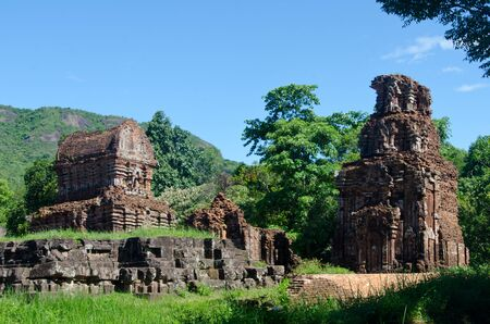 The My Son Sanctuary is a Site in Central Vietnam, containing remains of the Cham Civilisation from the 5th - 11th centuries.