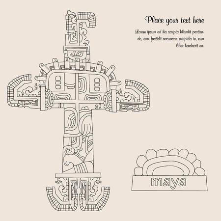 Maya culture vector Stock Vector - 14171187