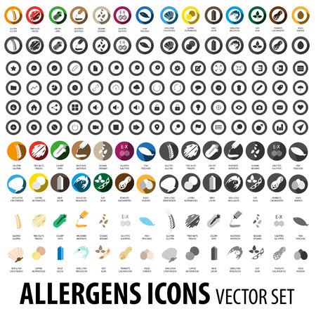 alergenos: Al�rgenos de conjunto de iconos