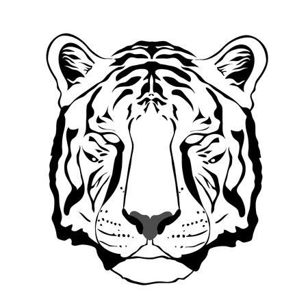 instinct: Tiger illustration