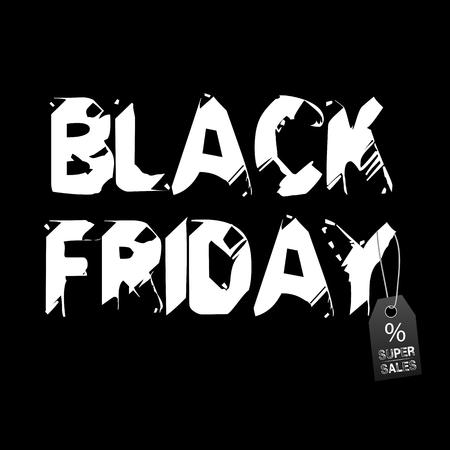 黒い金曜日の背景
