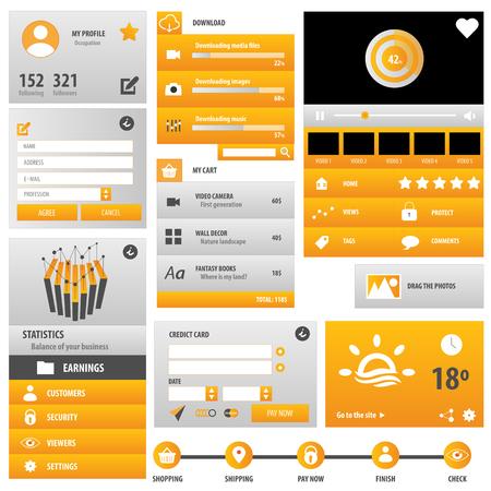 Statistics user interface
