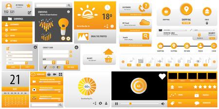 Yellow User interface