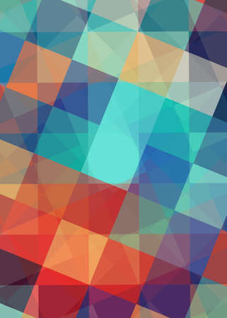 Colorful abstract square