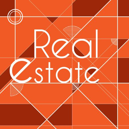 Real Estate background cover