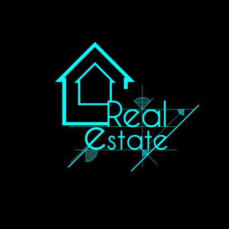 Real Estate skit light blue logo