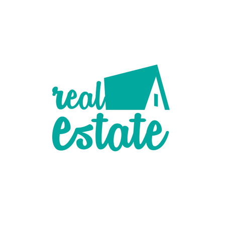 Real estate white background