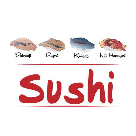 寿司の食べ方の種類