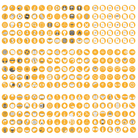 Big set of icon for markets Stock Vector - 58026965