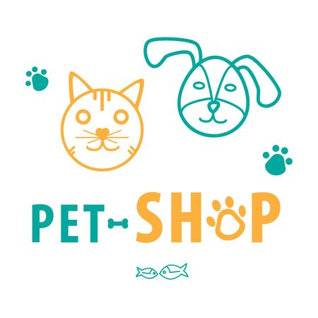 Dog and cat pet shop